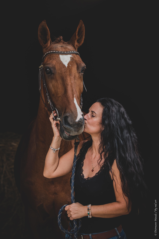 Ophélie & Eros Etalon PSL de l'élevage d'Ofée